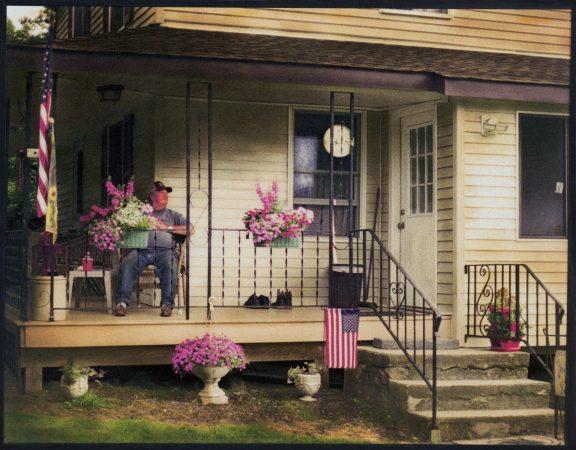 Roland's Porch, 2018-2019 by Peter Liepke