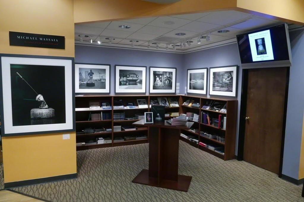 Gallery wall and photographic books