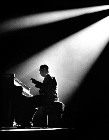 Duke Ellington, Paris by Herman Leonard