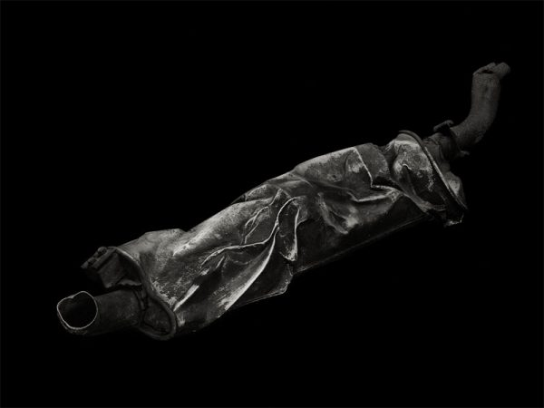 Exhaust Muffler 1, 2008 by Richard Kagan