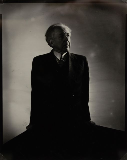 Frank Lloyd Wright by Edward Steichen
