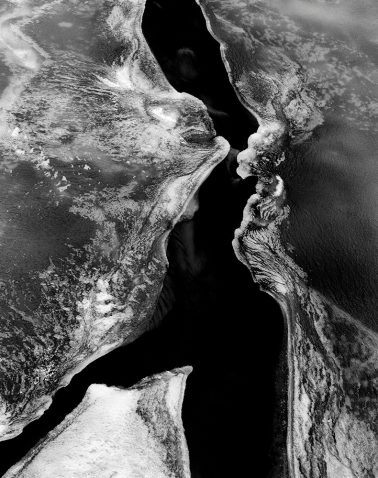 Ice, Oneonta Gorge, Oregon, 1985 by Stu Levy