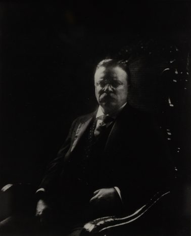 Teddy Roosevelt, 1908 by Edward Steichen