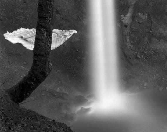 Elowah Falls, Oregon, 1986 by Stu Levy