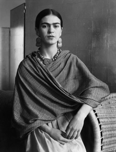 Frida Kahlo Rivera, Painter and Wife of Diego Rivera, 1931 by Imogen Cunningham