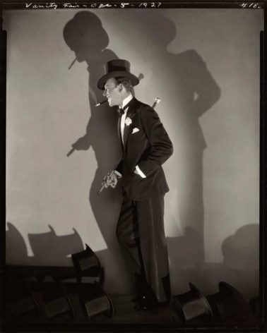 Fred Astaire in Top Hat, NY, 1927 by Edward Steichen