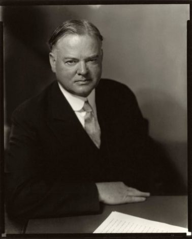 Herbert Hoover by Edward Steichen