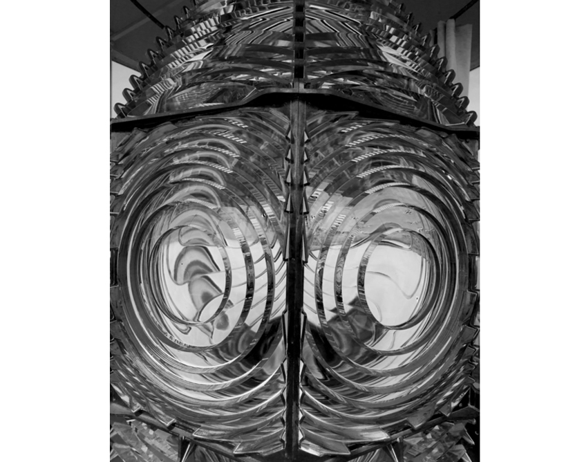 Fresnel Lens, Cape Blanco Lighthouse #1252, 2009-2010 by Stu Levy