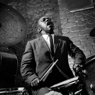 Art Blakey, Paris, 1958 by Herman Leonard