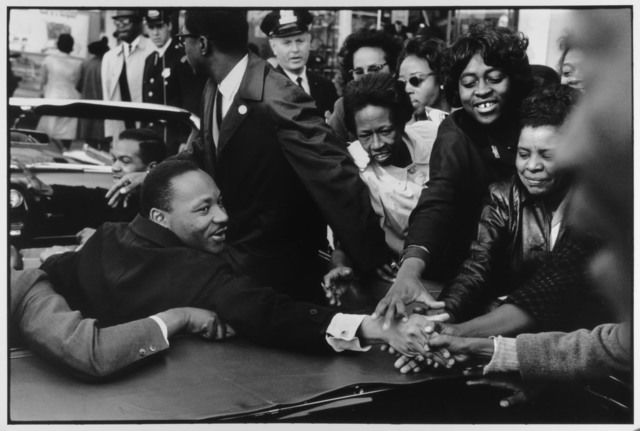 Martin Luther King Jr, Baltimore Md 10/31/1964, 1964 by Leonard Freed