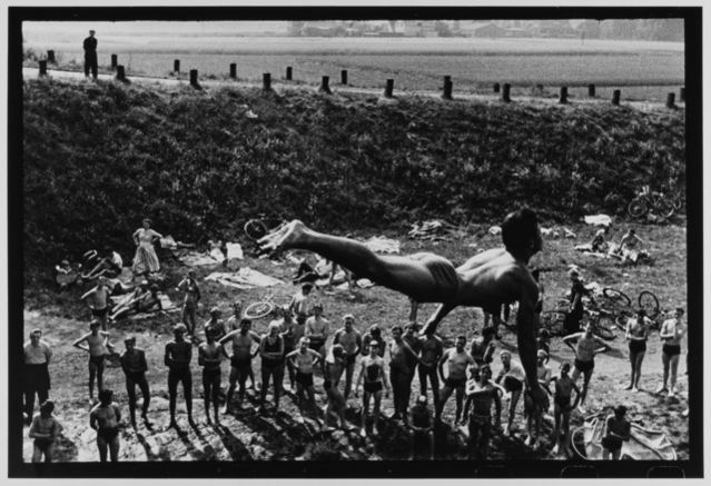 The Diver, Dortmund, West Germany, 1957 by Leonard Freed