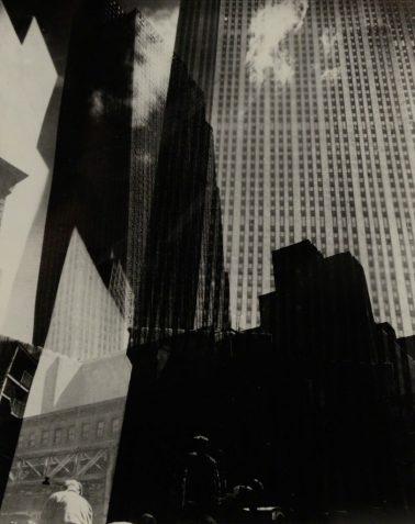 Rockefeller Center by Edward Steichen