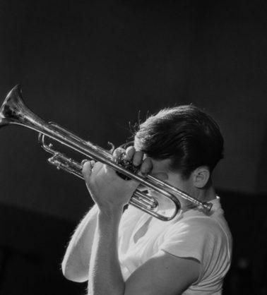 Chet Baker, New York , 1956 by Herman Leonard