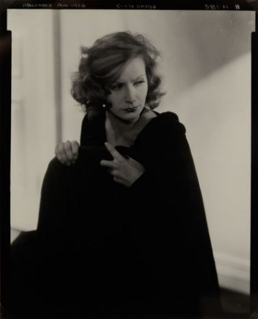 Greta Garbo, 1928 by Edward Steichen
