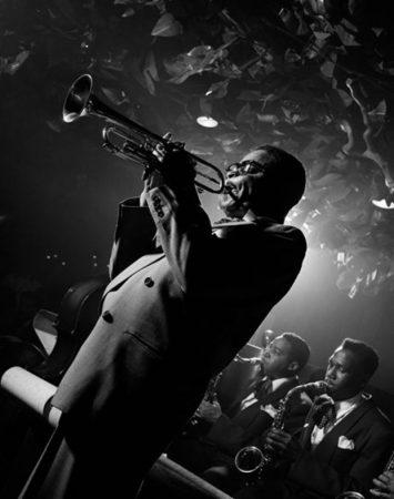 Dizzy Gillespie, New York, 1948 by Herman Leonard