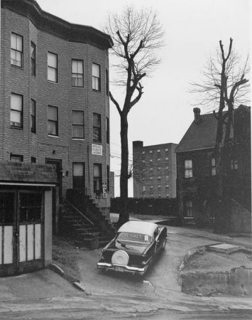 Car For Sale, Cliff Street, Paterson, NJ, 1969 by George Tice