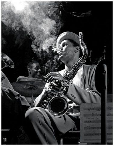 Dexter Gordon, New York, 1948 by Herman Leonard