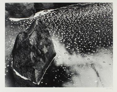 Rock & Pond, Portland, 1988 by Stu Levy