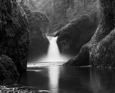 Punch Bowl Falls, Oregon , 1981 by Stu Levy