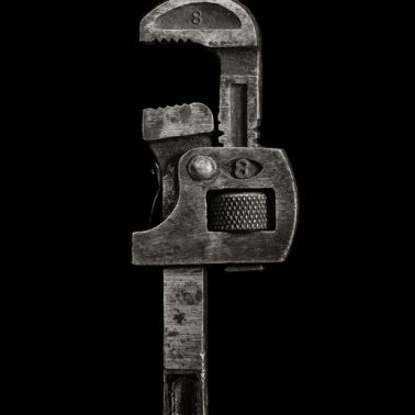 Pipe Wrench, 1992 by Richard Kagan