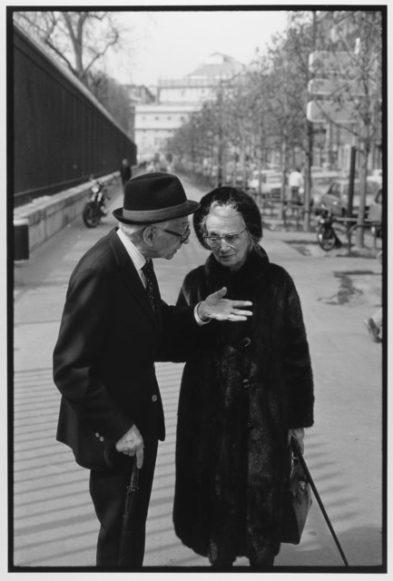 Couple arguing, Paris, France, 1985 by Leonard Freed