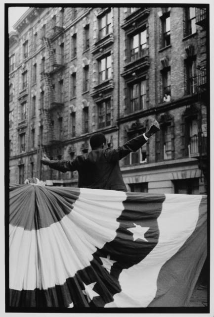 Harlem Politician, NYC, 1963 by Leonard Freed