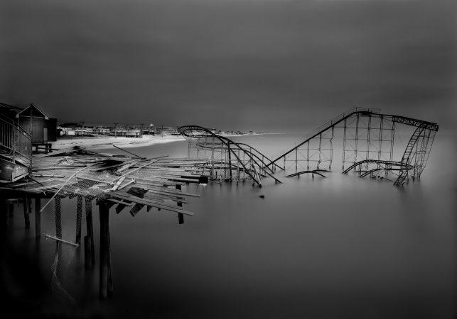 Casino Pier Post Hurricane, 2012 by Michael Massaia