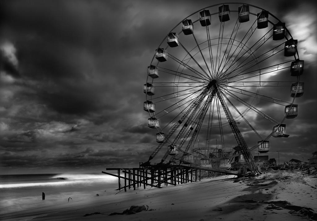 The Funtown Pier Post Hurricane, 2012 by Michael Massaia