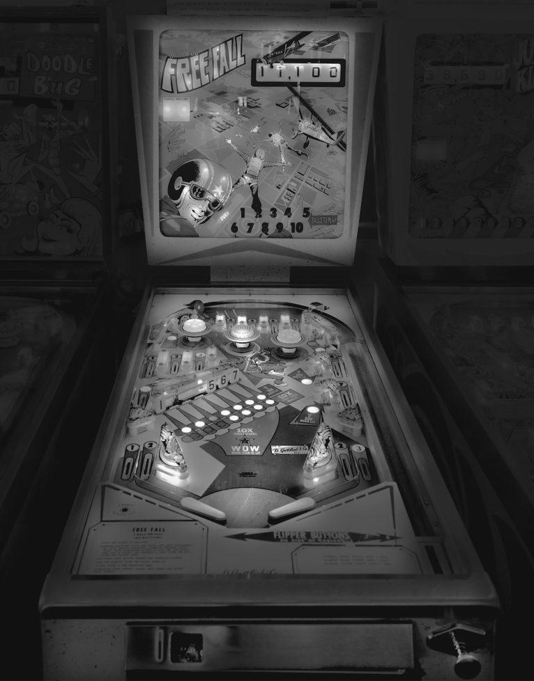 1974 Gottlieb's Free Fall, 2011 by Michael Massaia