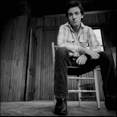 Bruce Springsteen in Chair, 1982 by David Michael Kennedy