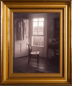 Empire Chair In The Gloaming, Stone Ridge, NY, 1995 by John Dugdale