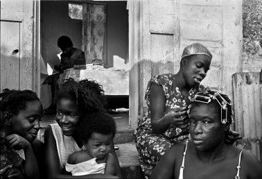 Hair Salon in Maisie's Yard by Melchoir DiGiacomo
