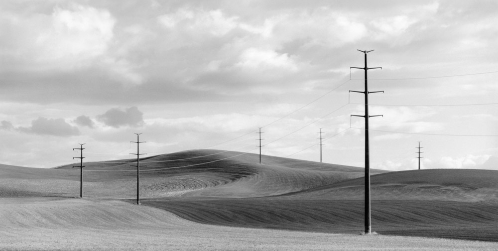 Power Lines, Palouse, 2003 by Brian Kosoff