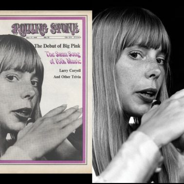 Rolling Stone Issue #33-Joni Mitchell, 1968 by Baron Wolman