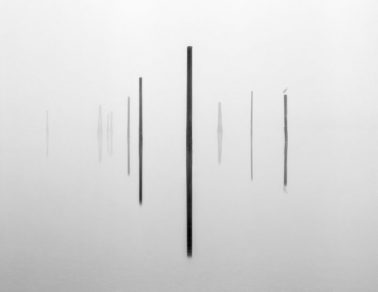 Pier Pilings with Bird, 2005 by Brian Kosoff