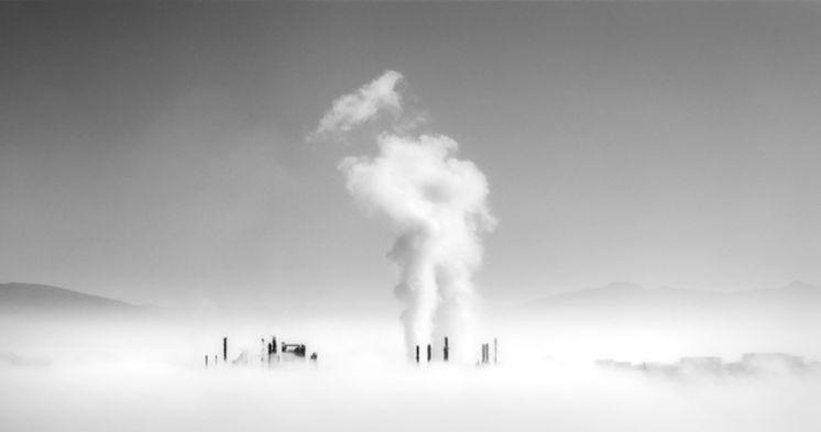 Refinery, Fidalgo Bay, 2007 by Brian Kosoff