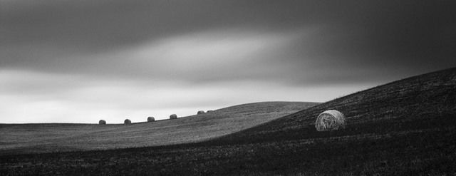 Hay Bales, 2007 by Brian Kosoff