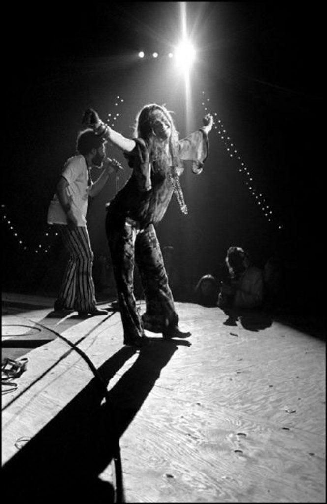Janis Joplin, Woodstock, 1969 by Elliott Landy
