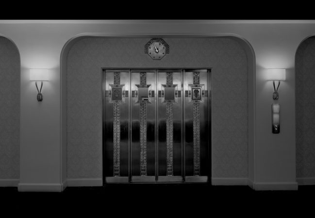 Coat Room Elevator, 2014 by Michael Massaia