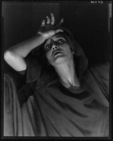 Katherine Cornell, 1934, by Edward Steichen