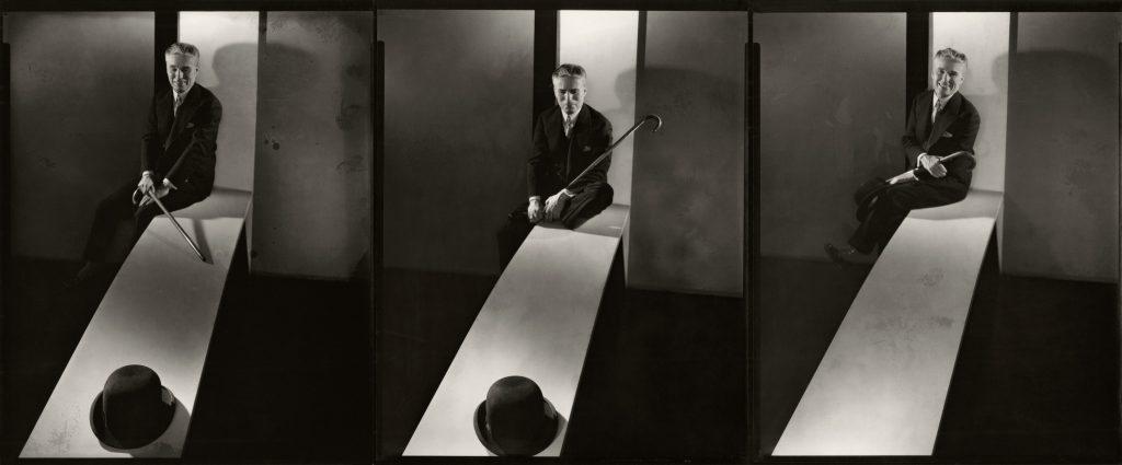 Charlie Chaplin, Hat Trick #1,#2 & #4, 1931 by Edward Steichen