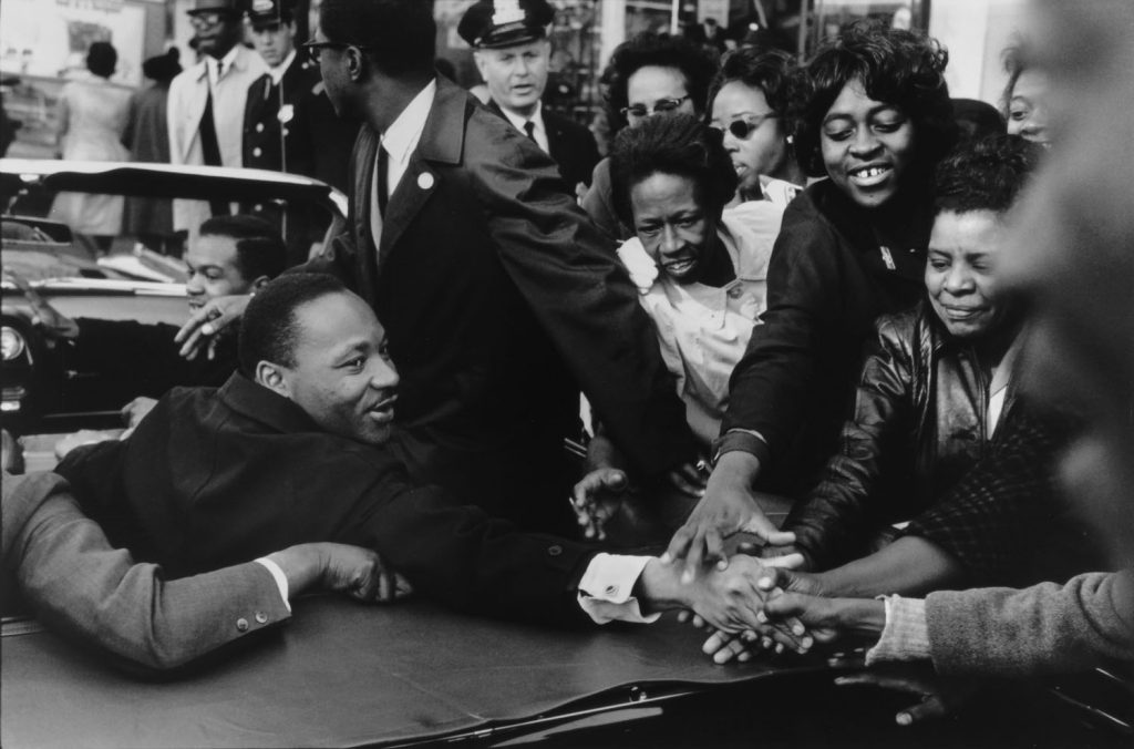Martin Luther King, Jr., Baltimore, MD, 10/31/64, 1964 by Leonard Freed
