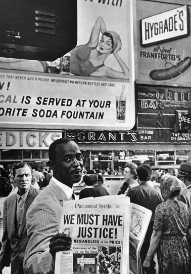 We Must Have Justice! NYC, 1963 by Leonard Freed