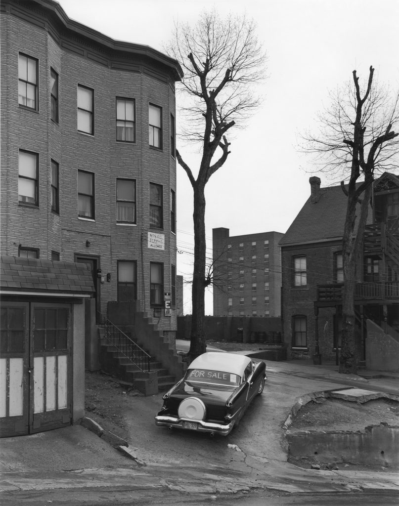 George Tice: Car For Sale, Paterson, NJ, 1969