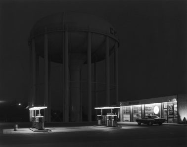 Petit's Mobil, Cherry Hill, NJ, 1974 by George Tice