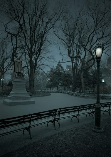 South Mall-Predawn, NYC, 2020 by Michael Massaia