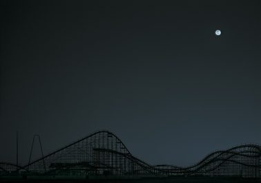 The Great White-Moonrise, Wildwood, NJ, 2020 by Michael Massaia