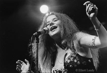Janis Joplin, Newport Folk Festival, Newport, Rhode Island, 1968 by Elliott Landy