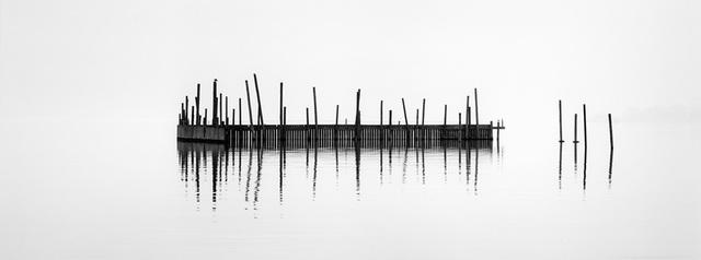 Breakwater, Hudson River by Brian Kosoff