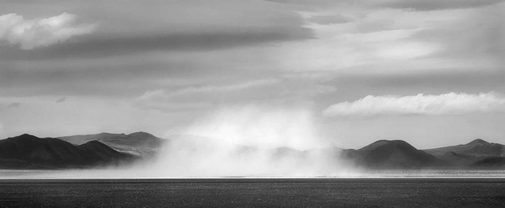 Alkali Dust Cloud, 2005 by Brian Kosoff